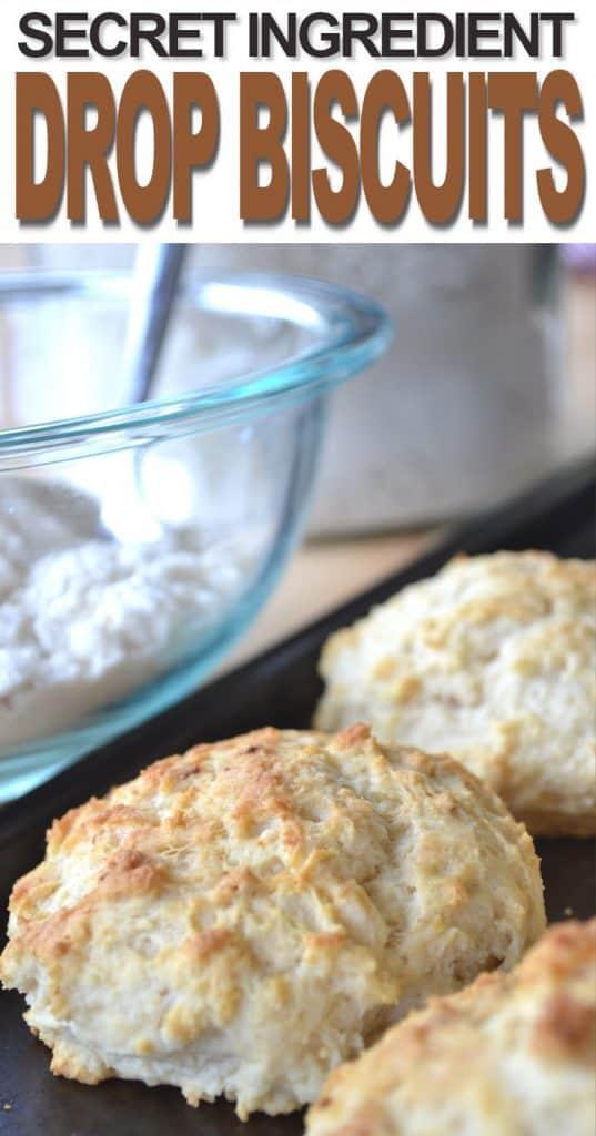 Homestead Blog Hop Feature - Secret Ingredient Drop Biscuits