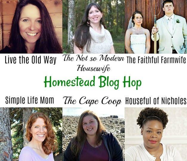 Homestead Blog Hop Hosts August 2017
