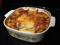Homestead Blog Hop Feature - Seafood Veggie Lasagna with a Twist