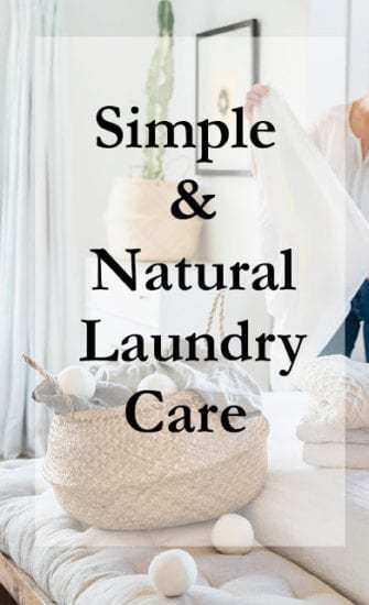 Homestead Blog Hop Feature - Simple-natural-laundry-care