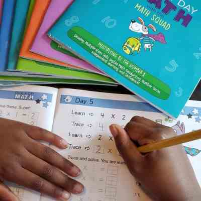Make Math Fun with Page A Day Math Workbooks