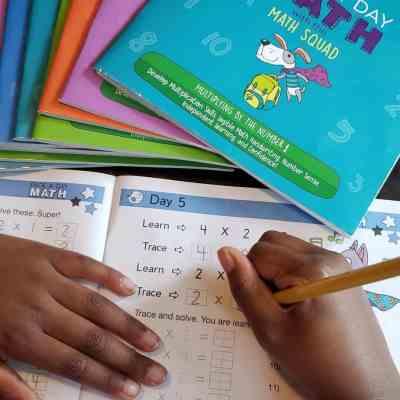Make Math Fun with Page A Day Math Workbooks