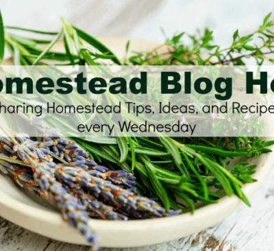 Homestead Blog Hop 341