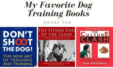 My Favorite Dog Training Books