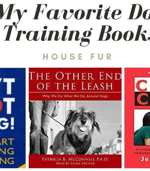 My Favorite Dog Training Books