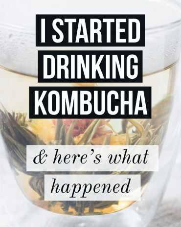 here's what happened when I drank kombucha