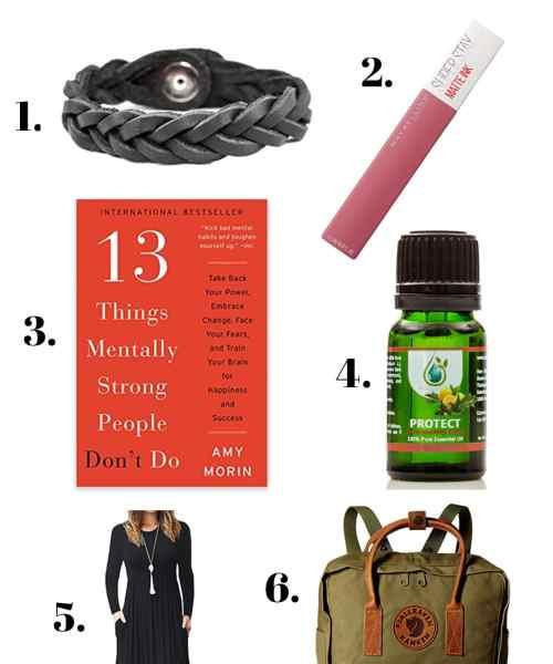product picks: essential oils, dress, fjallraven back pack