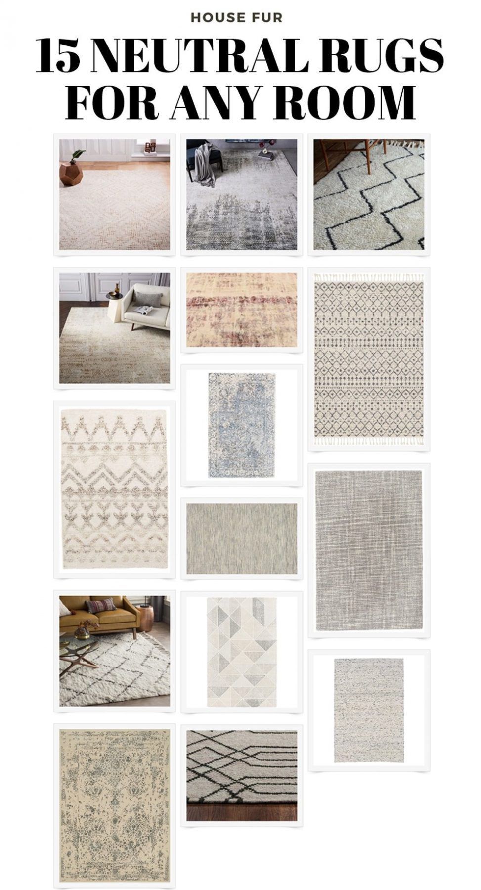 neutral rugs for your home