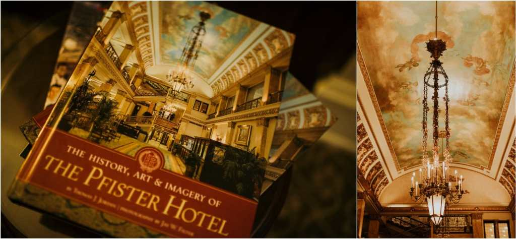 the Pfister hotel Milwaukee best hotel