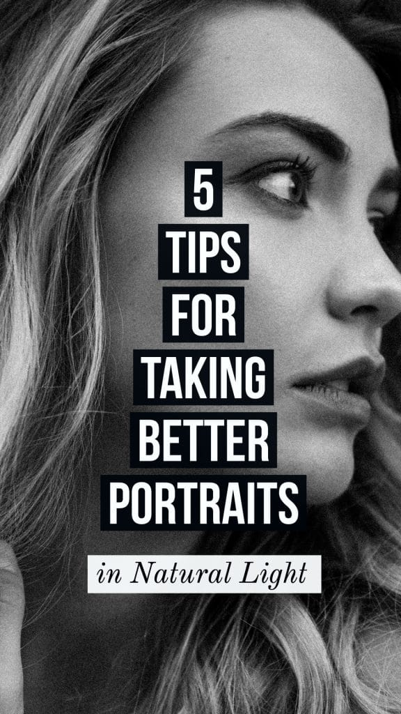 take better portraits in natural light