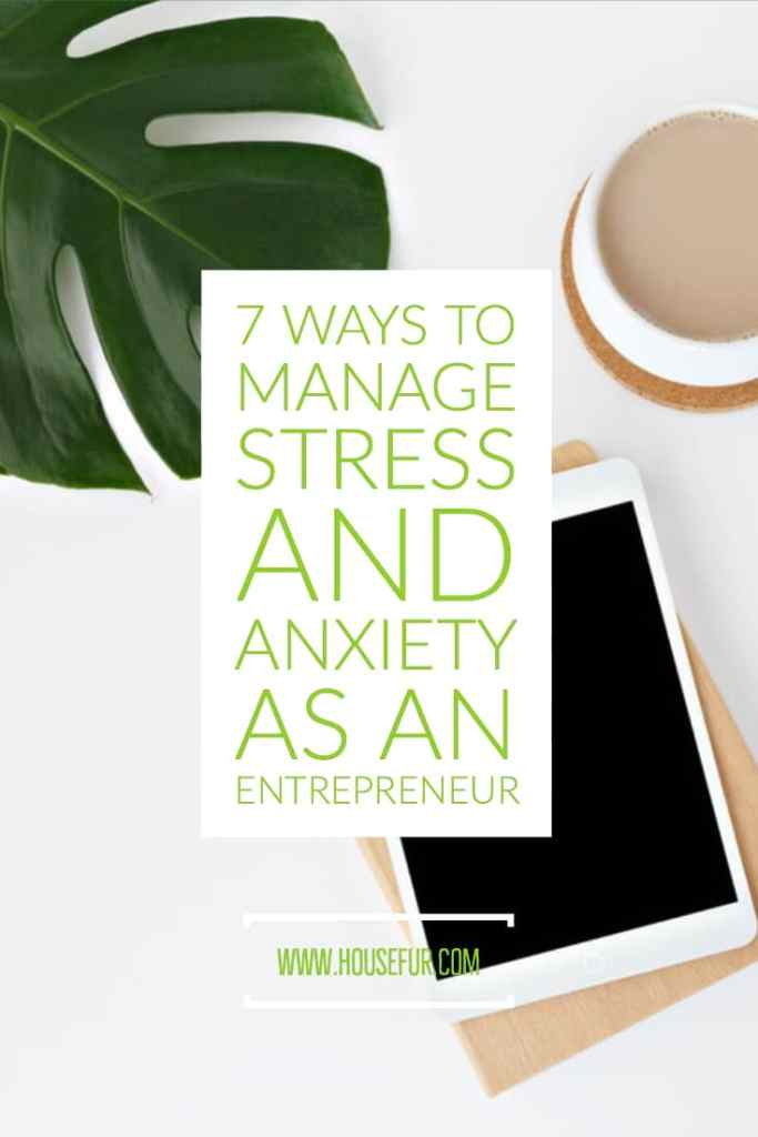 how to manage stress and anxiety