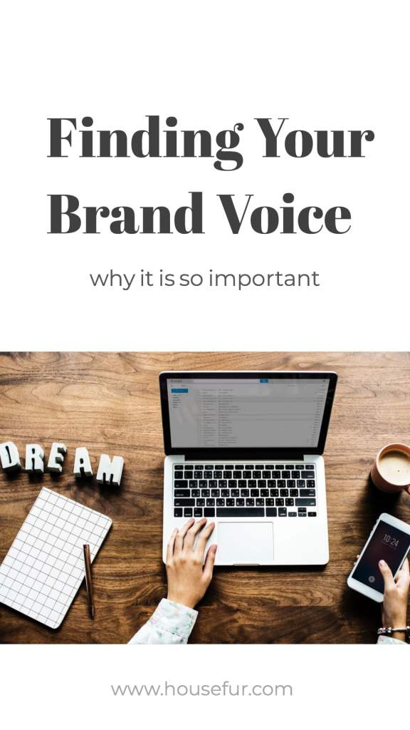 finding your personal brand voice for your business