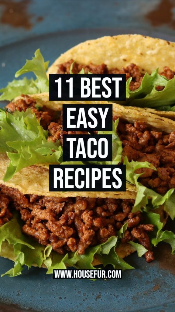 11 Best Easy Taco Recipes for week nights