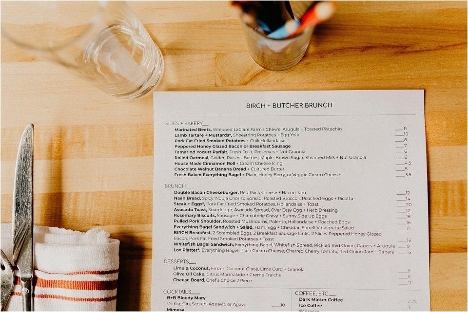 Birch + Butcher Milwaukee Brunch