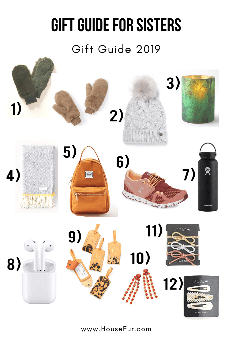 gift guide for sisters