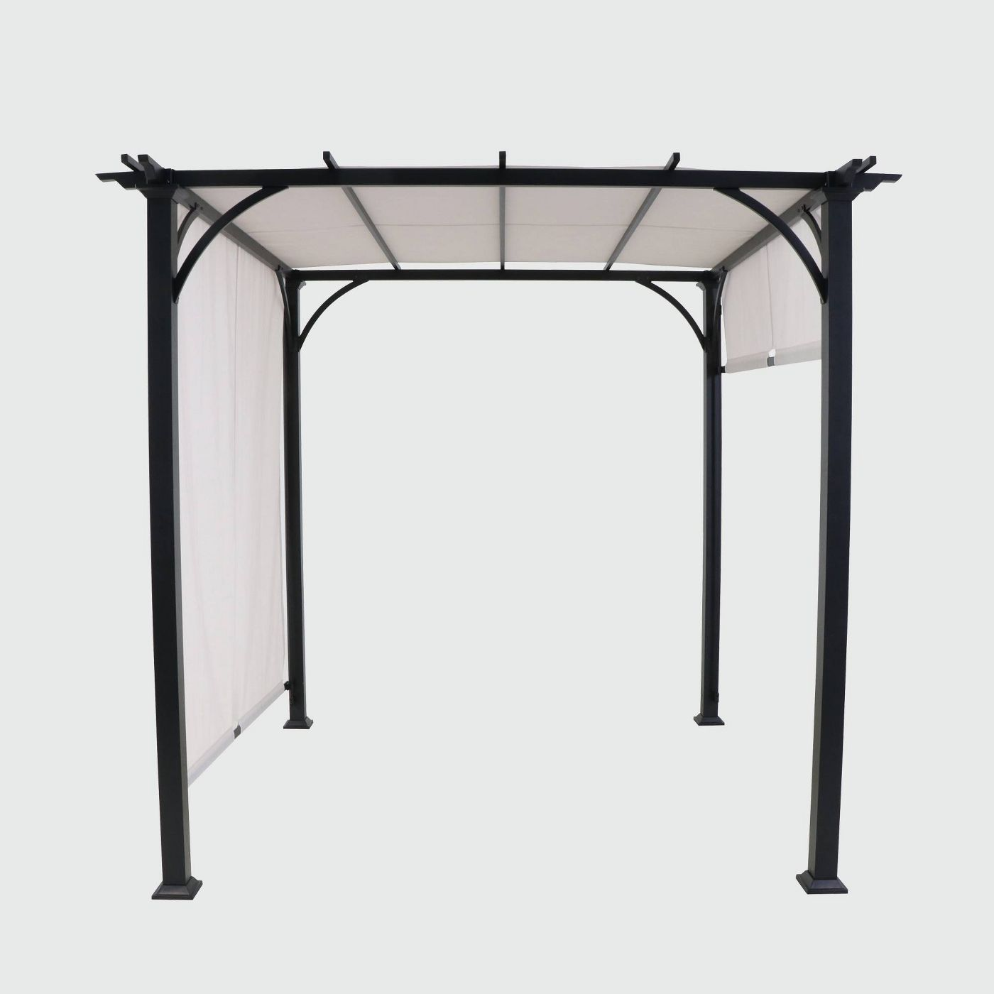 metal outdoor adjustable shade gazebo