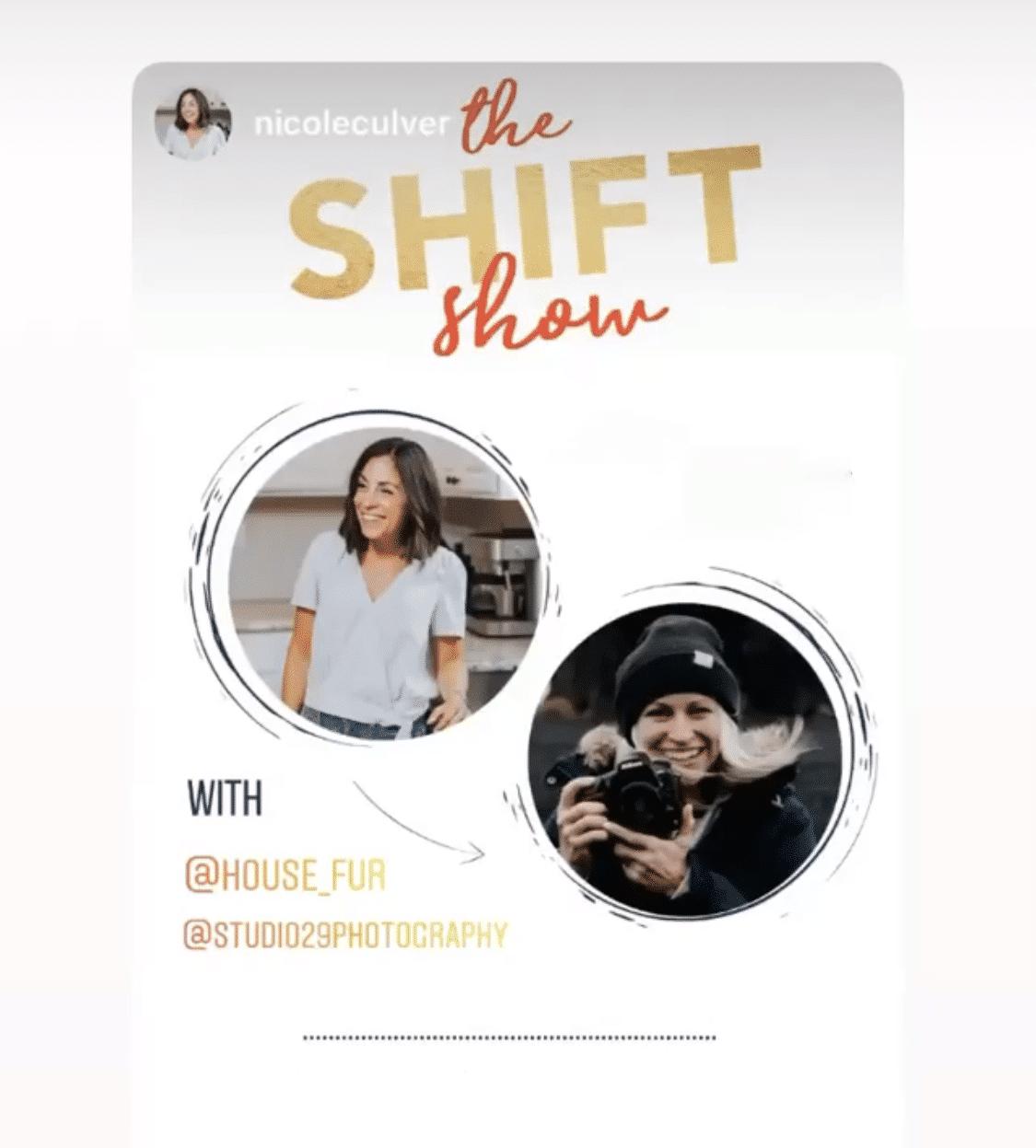 the shift show podcast Nicole Culver