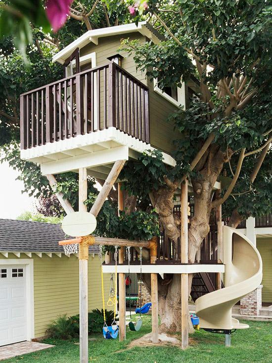 14 incredible cubby houses | housegoeshome on Backyard House Ideas id=69819