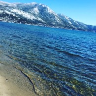 I took this photo of Lake Tahoe, at Incline Village, as we drove into town.