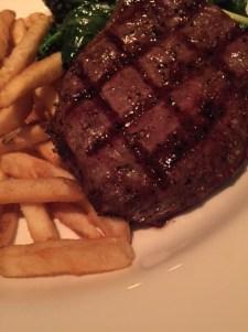 My steak dinner.