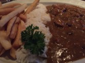 We moved on to a cheap Irish pub afterwards and I tried my first Irish curry and chips.
