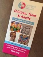 The art school's holiday program.