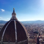 The view from the top of Giotto's Tower.