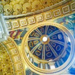 Another ceiling shot from St Peter's.