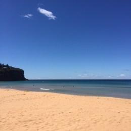 Gorgeous Bilgola Beach.