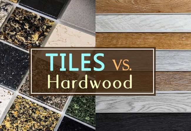 tiles vs hardwood durability cost