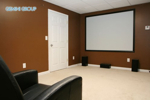 Luxury Home Movie Theater in an estate home