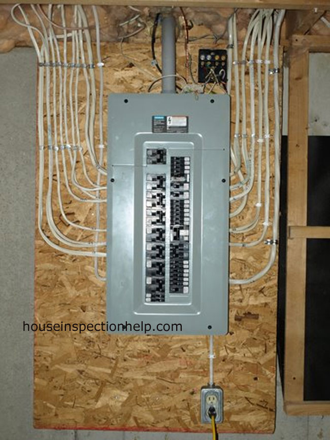 Insulating basement walls for Best electrical panel