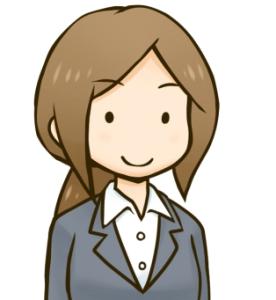 スーツ女性1