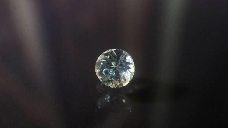white sapphire 0.45ct_srilanka1