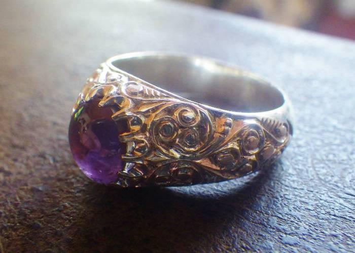 12 starsapphire ring_1