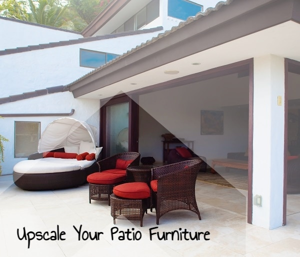 Easy Ways To Upscale Your Patio Furniture