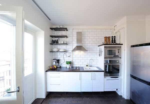 20 Spacious Small Kitchen Ideas on Small Space:fn118Lomvuk= Small Kitchen Ideas  id=63397