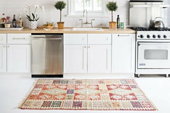 10 Of The Most Beautiful Kitchen Rugs   Housely beautiful kitchen rug