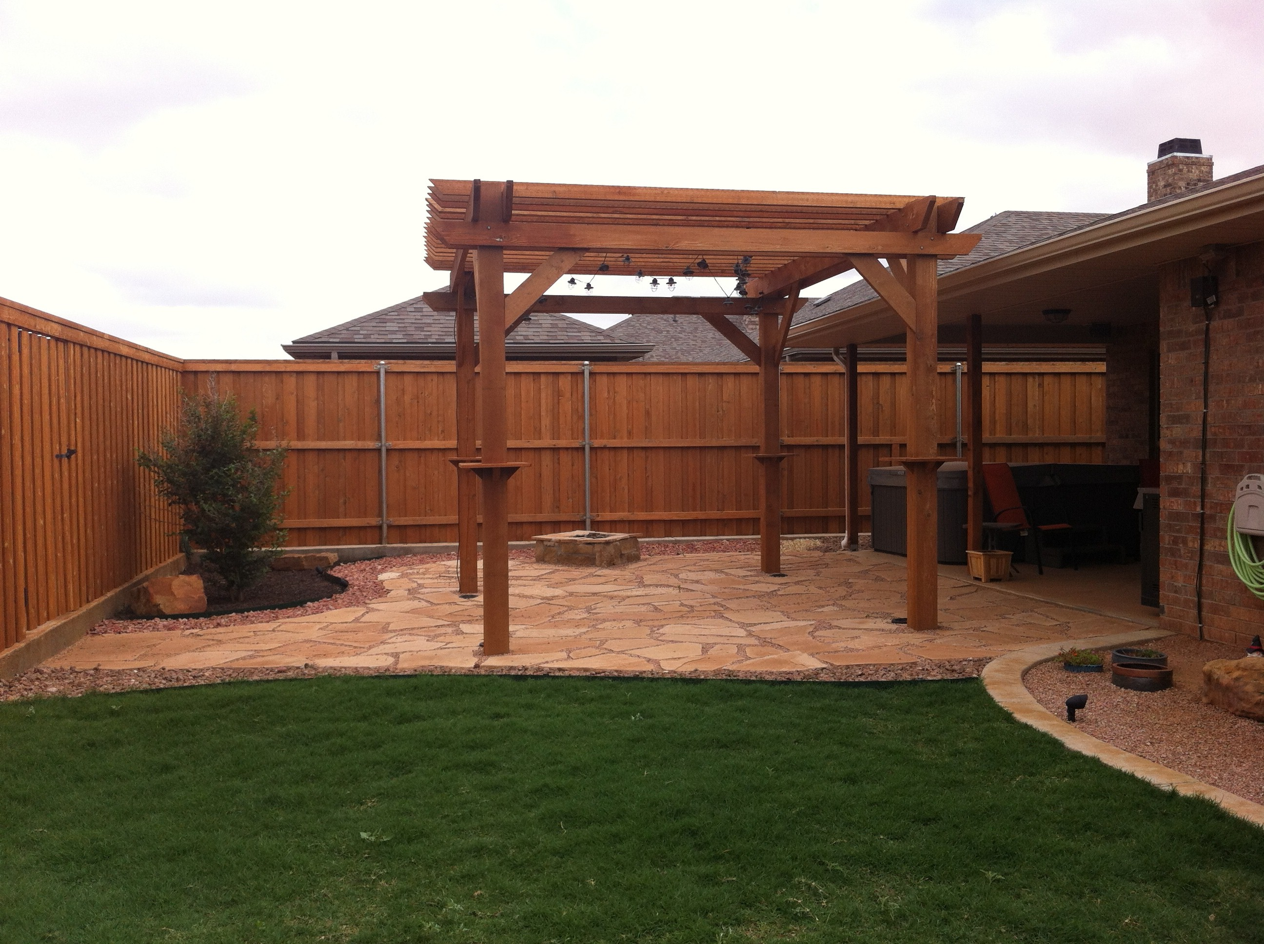 Employee Homes Part 3: Patio Ideas - House Made Home on Backyard Patio Extension Ideas id=34452