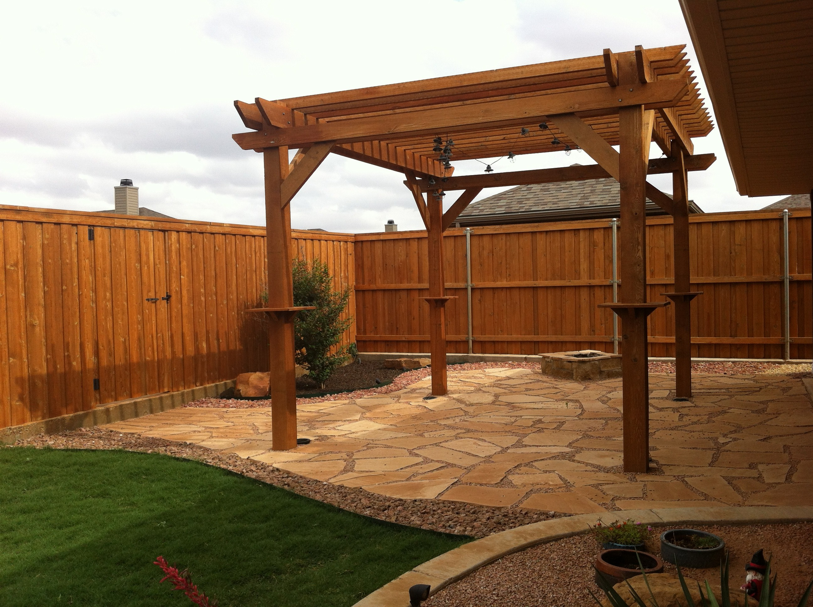 Employee Homes Part 3: Patio Ideas - House Made Home on Backyard Patio Extension Ideas id=56369
