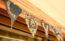 Bunting made by Lisa