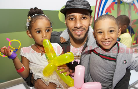 Swizz Beatz Brings Kaseem & Nasir To London For Daughter Nicole's Birthday Party