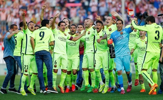 Atletico Madrid 0-1 Barcelona: Messi strike seals Liga title