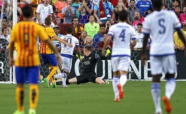 Barcelona VS Chelsea, Chelsea win 4-2 on penalties [pre-season friendly]