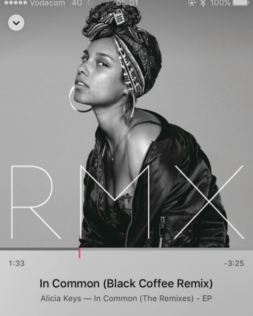 Download MP3: Alicia Keys Ft. Black Coffee – In Common (Remix)