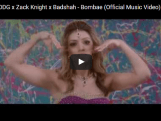 VIDEO: Fuse ODG x Zack Knight x Badshah – Bombae