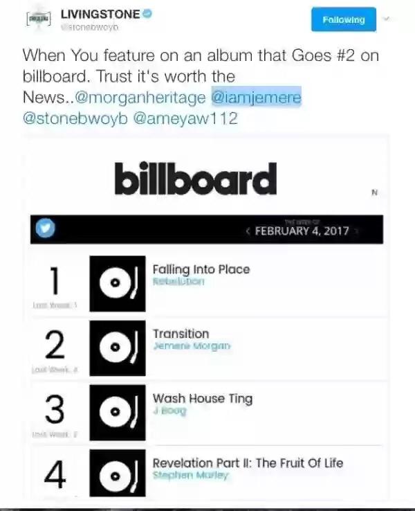 Enews Ghana S Stonebwoy Makes It On Billboard Chart