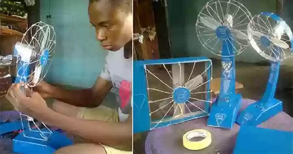 TechNews: 13-Year-Old Nigerian Boy Builds Fan That Last Up To 19 Hours Without Electricity