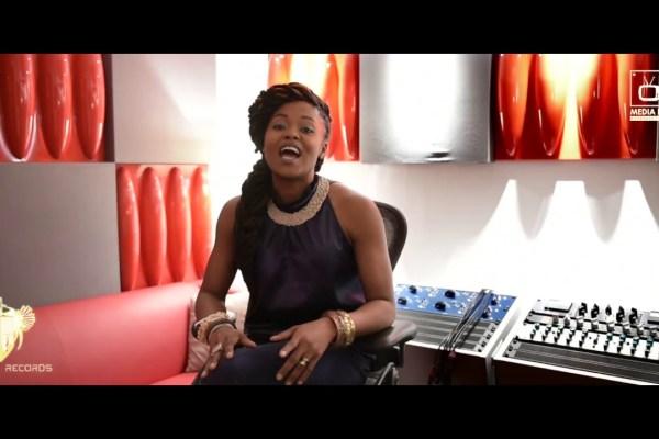 Singer UniekGrace Arrives Lagos