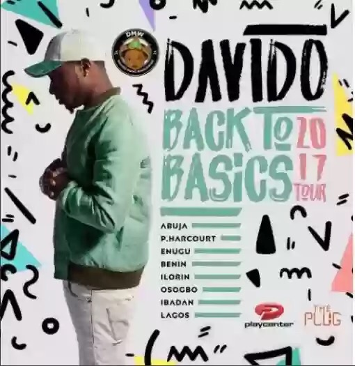DAVIDO TO TOUR 8 STATES IN NIGERIA